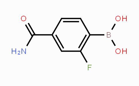 874289-22-2 | 4-Carbamoyl-2-fluorophenylboronic acid