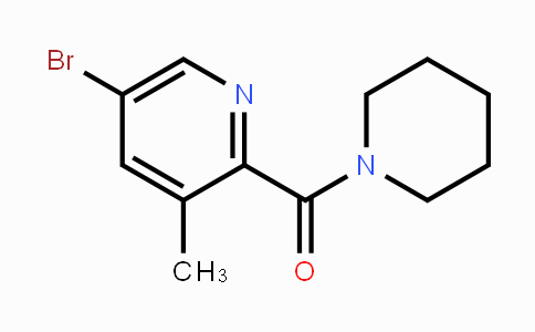 934000-34-7 | 5-Bromo-3-methyl-2-[(piperidin-1-yl)carbonyl]pyridine