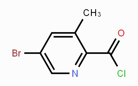 MC453449 | 1114809-24-3 | 5-Bromo-3-methylpyridine-2-carbonyl chloride