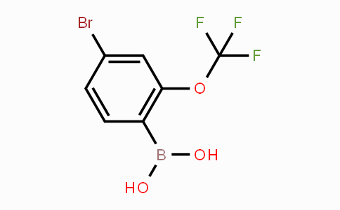 1048990-22-2 | 4-Bromo-2-(trifluoromethoxy)phenylboronic acid