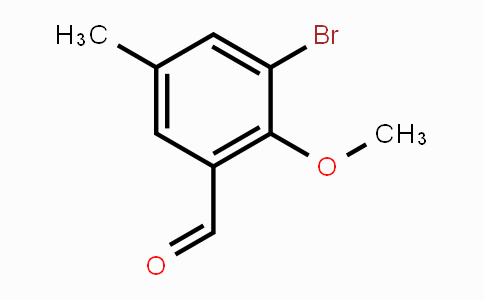 1224604-15-2 | 3-Bromo-2-methoxy-5-methylbenzaldehyde