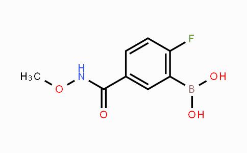 MC453466 | 874289-58-4 | 2-Fluoro-5-(methoxycarbamoyl)phenylboronic acid