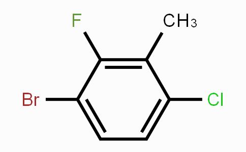 943830-58-8 | 3-Bromo-6-chloro-2-fluorotoluene