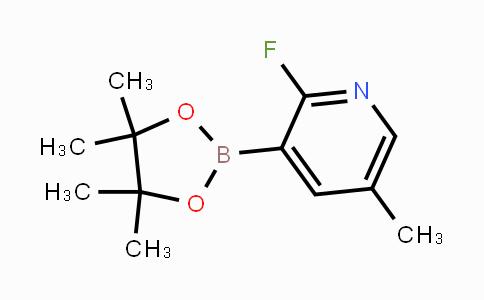 MC453476 | 1073371-96-6 | 2-Fluoro-5-methylpyridine-3-boronic acid pinacol ester