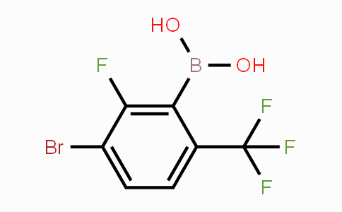 MC453478 | 1451392-89-4 | 3-Bromo-2-fluoro-6-(trifluoromethyl)phenylboronic acid