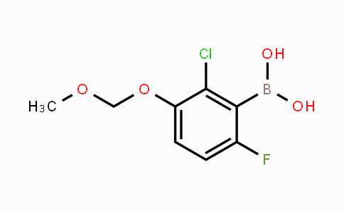MC453479 | 1451392-26-9 | 2-Chloro-6-fluoro-3-(methoxymethoxy)phenylboronic acid