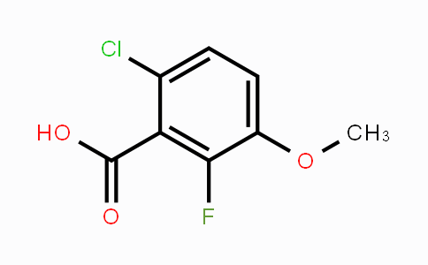 MC453480 | 886499-58-7 | 6-Chloro-2-fluoro-3-methoxybenzoic acid