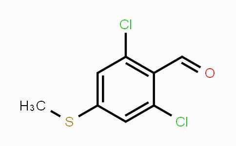 616196-04-4 | 2,6-Dichloro-4-(methylthio)benzaldehyde