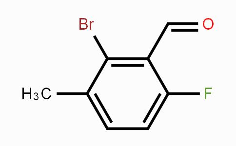 MC453492 | 154650-16-5 | 2-Bromo-6-fluoro-3-methylbenzaldehyde