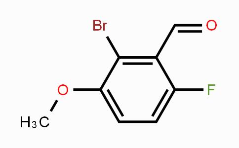 MC453493 | 154650-22-3 | 2-Bromo-6-fluoro-3-methoxybenzaldehyde