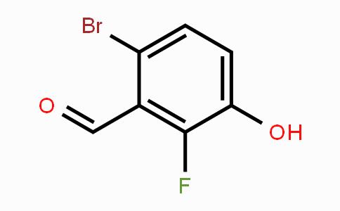 MC453494 | 935534-46-6 | 6-Bromo-2-fluoro-3-hydroxybenzaldehyde