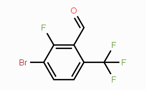MC453500 | 909186-28-3 | 3-Bromo-2-fluoro-6-(trifluoromethyl)benzaldehyde