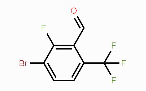 909186-28-3 | 3-Bromo-2-fluoro-6-(trifluoromethyl)benzaldehyde