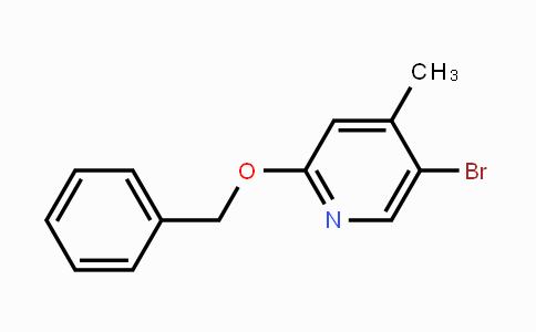 MC453503 | 847349-87-5 | 2-(Benzyloxy)-5-bromo-4-methylpyridine