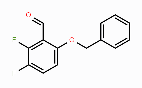 947279-31-4 | 2,3-Difluoro-6-(phenylmethoxy)benzaldehyde