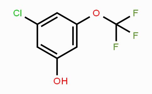 1017778-52-7 | 3-Chloro-5-(trifluoromethoxy)phenol