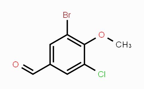 MC453569 | 161565-36-2 | 3-Bromo-5-chloro-4-methoxybenzaldehyde