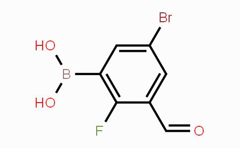 MC453577 | 1451393-09-1 | 5-Bromo-2-fluoro-3-formylphenylboronic acid