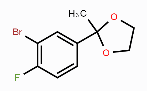 MC453579 | 210826-84-9 | 2-(3-Bromo-4-fluorophenyl)-2-methyl-1,3-dioxolane