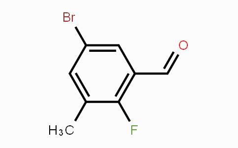 MC453580 | 903875-64-9 | 5-Bromo-2-fluoro-3-methylbenzaldehyde