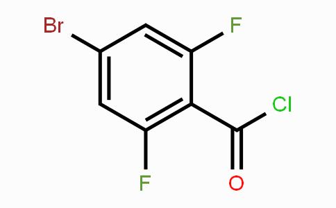 497181-19-8 | 4-Bromo-2,6-difluorobenzoyl chloride