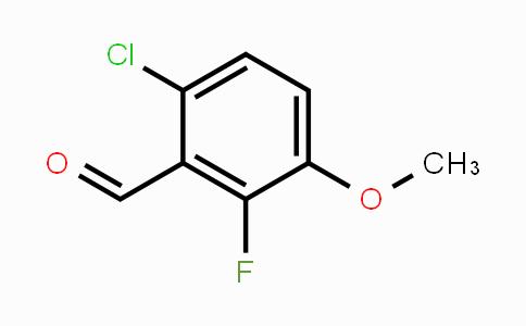 MC453588 | 112641-64-2 | 6-Chloro-2-fluoro-3-methoxybenzaldehyde