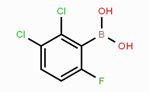 1451393-17-1 | 2,3-Dichloro-6-fluorophenylboronic acid