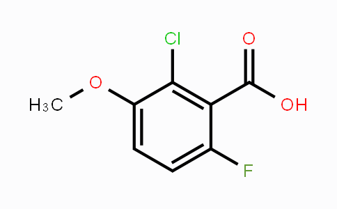 886499-40-7 | 2-Chloro-6-fluoro-3-methoxybenzoic acid