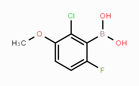 1072945-77-7 | 2-Chloro-6-fluoro-3-methoxyphenylboronic acid