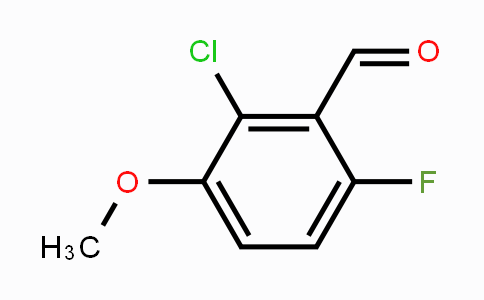 MC453599 | 149949-29-1 | 2-Chloro-6-fluoro-3-methoxybenzaldehyde