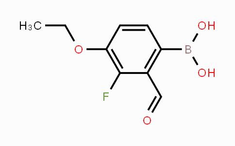 1246404-48-7 | 4-Ethoxy-3-fluoro-2-formylphenylboronic acid