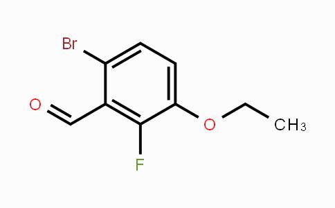 MC453605 | 1114809-07-2 | 6-Bromo-3-ethoxy-2-fluorobenzaldehyde