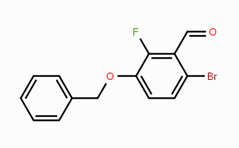 MC453606 | 1114809-05-0 | 3-Benzyloxy-6-bromo-2-fluorobenzaldehyde