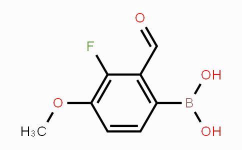 1451392-03-2 | 3-Fluoro-2-formyl-4-methoxyphenylboronic acid