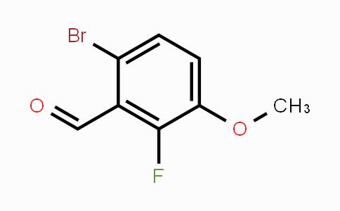 853792-27-5 | 6-Bromo-2-fluoro-3-methoxybenzaldehyde