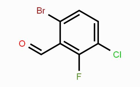 MC453610 | 1114809-02-7 | 6-Bromo-3-chloro-2-fluorobenzaldehyde