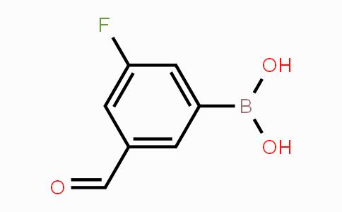 MC453619 | 328956-60-1 | 3-Fluoro-5-formylphenylboronic acid