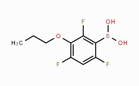 MC453639 | 871125-70-1 | 3-Propoxy-2,4,6-trifluorophenylboronic acid