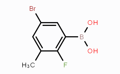 MC453649 | 957120-61-5 | 5-Bromo-2-fluoro-3-methylphenylboronic acid