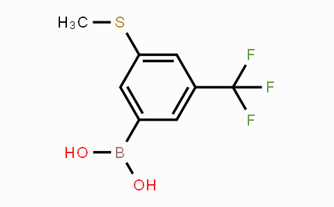 957120-83-1 | 3-(Methylthio)-5-(trifluoromethyl)phenylboronic acid