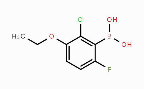 957120-93-3 | 2-Chloro-3-ethoxy-6-fluorophenylboronic acid