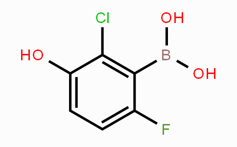 MC453654 | 957121-07-2 | 2-Chloro-6-fluoro-3-hydroxyphenylboronic acid