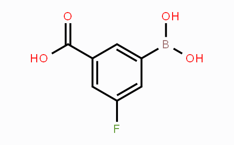 871329-84-9 | 3-Carboxy-5-fluorophenylboronic acid