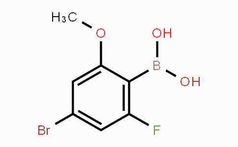 957035-32-4 | 4-Bromo-2-fluoro-6-methoxyphenylboronic acid