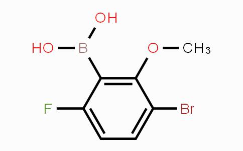 MC453671 | 957120-30-8 | 3-Bromo-6-fluoro-2-methoxyphenylboronic acid