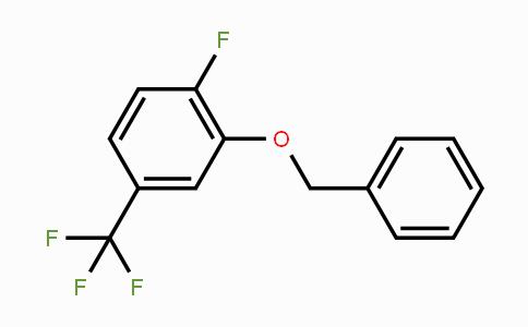 847148-74-7 | 1-Fluoro-2-(phenylmethoxy)-4-(trifluoromethyl)benzene