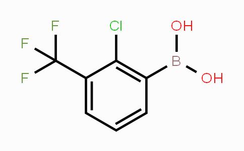 957061-11-9 | 2-Chloro-3-(trifluoromethyl)phenylboronic acid