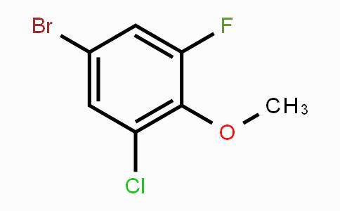 261762-34-9 | 4-Bromo-2-chloro-6-fluoroanisole