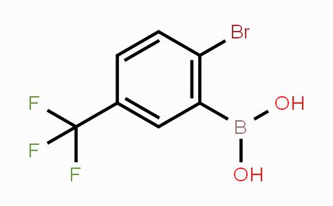 957034-38-7 | 2-Bromo-5-trifluoromethylphenylboronic acid