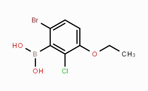 957121-15-2 | 6-Bromo-2-chloro-3-ethoxyphenylboronic acid